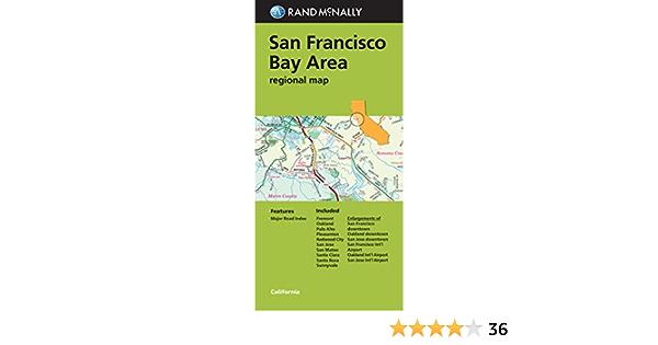 Ucasdz6rqj0agm Bridges that go across sf bay. https www amazon com folded map francisco area regional dp 0528008021