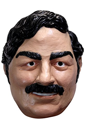 Adult Pablo Escobar Narcos Costume Mask