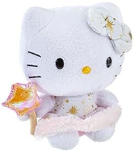 Ty Beanie Baby Hello Kitty Plush - Gold Angel