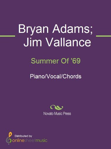 Summer Of 69 Kindle Edition By Bryan Adams Jim Vallance Arts
