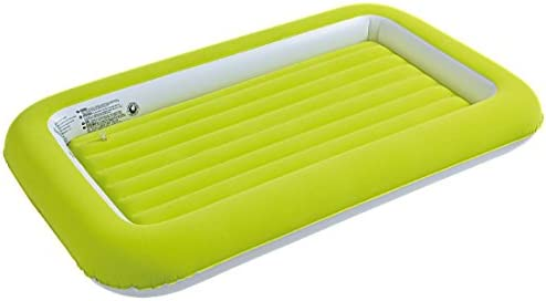 JILONG Easigo Kids Safety Bed - Cama Hinchable Infantil con Borde Elevado y Superficie de Velour, 152 x 89 x 17,5 cm