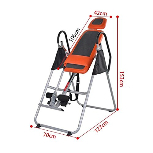 QAZSE Gravity Inversion Therapy Table, Fitness, Backache, Relieve, Relax, Abdomen, Increase, Stress Reliever by QAZSE