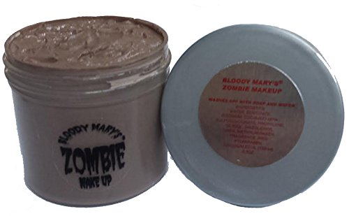 Bloody Mary F/X Zombie Paste, 3.5 oz (Homemade Halloween Makeup Zombie)