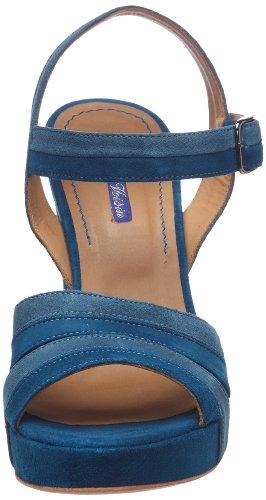 Atelier Voisin Volupte, Damen Sandalen Blau (bleu)