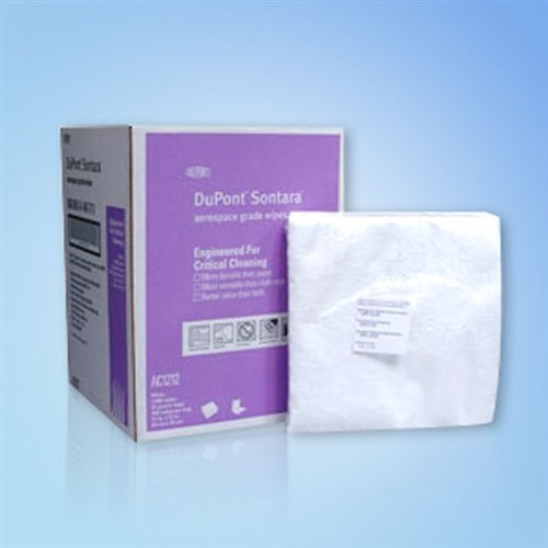 Sontara Wipes, 12 in x 12 in., 1000/case by DuPont