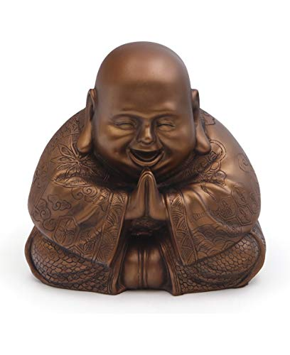 Buddha Groove Majestic Praying Happy Buddha Statue for sale  Delivered anywhere in USA