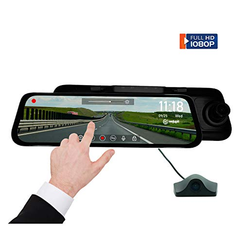 weJupit's Streaming Media Rearview Mirror, 9.35