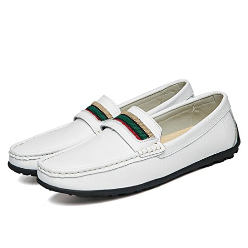 White Minitoo 40 LH3955 Bianco Uomo Mocassini LHEU zvwzR
