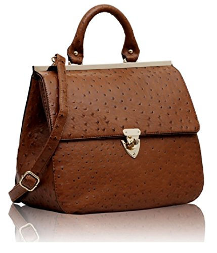 GetThatBag® Tracy Struzzo flip & Twist Lock Suffolk borsa delle donne