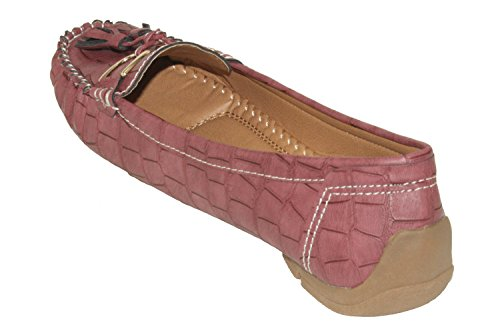 Slip on Wine Womens Forever Jimmi Forever Flat Loafers 01 Womens xqRXZYO