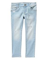 Crazy 8 Big Girls\' Fashion Skinny Fit Jean, Light Wash, 14