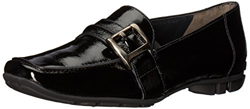 Paul Green Women's NEWTRON Oxford, Black Crinkled Patent