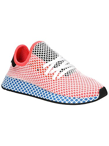 adidas Originals Women's Sneaker Deerupt in Mesh Rossa Bianca E Blu 8,5(UK)-10(US) Red