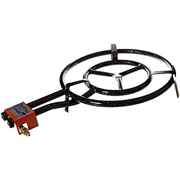 Amazon Com Burner With Rolling Stand And 42cm Paella Pan