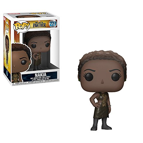 Funko POP! Marvel: Black Panther Movie – Nakia Collectible Figure