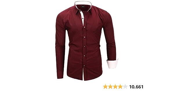 Kayhan Camisas Hombres Camisa Hombre Manga Larga Ropa Camisas ...