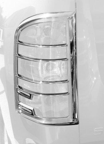 (Putco 400890 Chrome Tail Light Cover for Select Chevrolet Models)