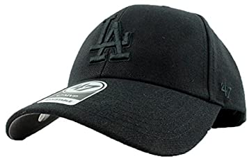 huge discount 2576f ab101 ... inexpensive los angeles dodgers hat mlb authentic 47 forty seven brand  mvp adjustable black b00f1 bb449