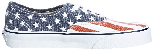 Vans U Authentic, Zapatillas de Estar por Casa para Mujer Stars & Stripes