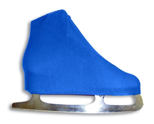 A&R Sports Lycra Ice Skate Boot Covers, Royal -