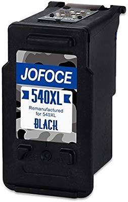 Jofoce Remanufacturado Canon PG-540XL CL-541XL Cartuchos de tinta 2 Negro, Compatible con Canon PIXMA MG2100 MG2150 MG2200 MG2250 MG3100 MG3150 MG3200 ...