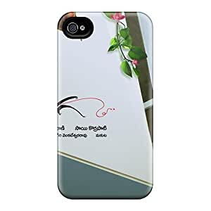Dana Lindsey Mendez Case Cover For Iphone 4/4s - Retailer Packaging Samantha Eega Protective Case