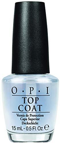 OPI Nail Polish Top Coat, Protective High-Gloss Shine, 0.5 Fl Oz