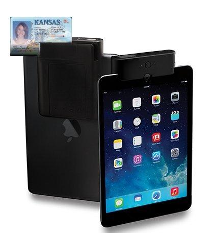 Infinea Tab M - 1D/2D w/ MSR for iPad Air & Mini by Infinite Peripherals