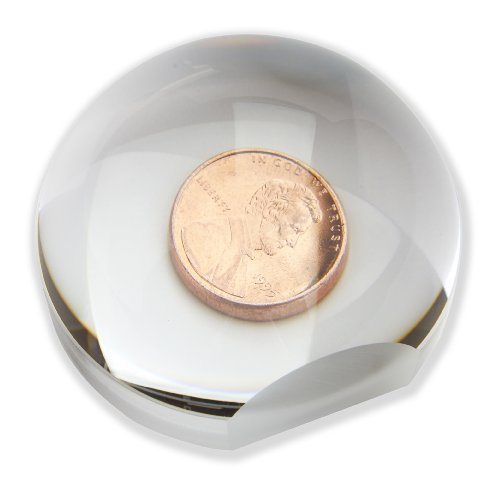 Carson LumiDome and LumiDome Plus 2x Power Acrylic Ball Loupe Magnifiers (LD-33 and LD-75)