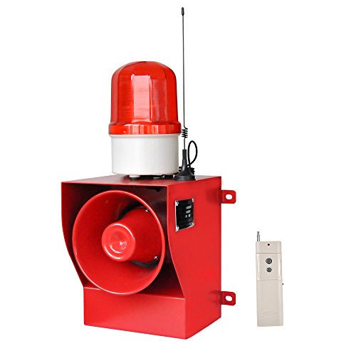 new brand YS-05AY AC110-120V Flashing Light Alarm with Fire Alarm Sounds - Manufacturer With - Siren Remote Alarm