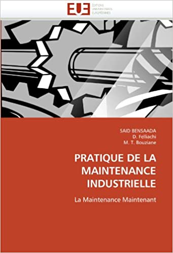 Book PRATIQUE DE LA MAINTENANCE INDUSTRIELLE: La Maintenance Maintenant (Omn.Univ.Europ.)