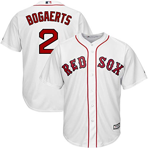 (Xander Bogaerts Boston Red Sox White Youth Cool Base Home Replica Jersey (Medium 10/12))