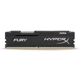 HyperX Kingston Technology Fury Black 8 GB 2133 MHz CL14 DIMM DDR4 Internal Memory (HX421C14FB2/8) (B01D8U27YU)   Amazon price tracker / tracking, Amazon price history charts, Amazon price watches, Amazon price drop alerts