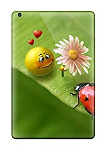 Anti-scratch And Shatterproof Smiley In Love Phone Case For Ipad Mini 3/ High Quality Tpu Case 8043553K59241456