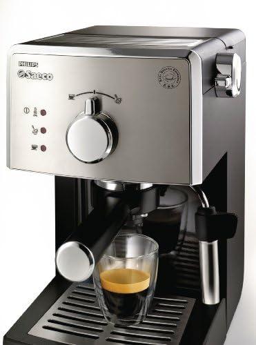 Saeco HD8325/01 - Cafetera Saeco Poemia espresso manual negra y ...