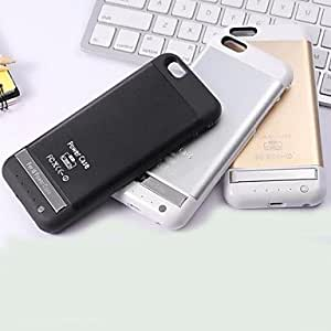 JOE 3800mAh Metal Clip External Backup Battery Charger Power Bank Case for iPhone 6 , Black
