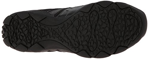 Skechers USA Men's Diameter-Nerves Slip-On Loafer Black Leather hdQsaEE