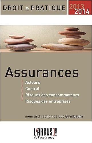 Téléchargeur gratuit de livres en pdf Assurances 2013-2014 by Luc Grynbaum PDF