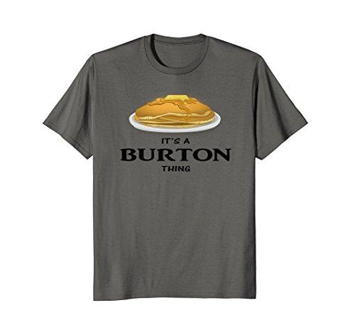 It's a Burton Thing Pancake Lovers (Burton Womens Shirt)