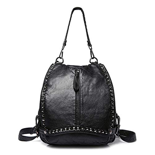 Lady Bag School Women Girl Shoulder 2 Handbag Backpack Travel Shoresu Rucksack 4 Crossbody BAqwHg5