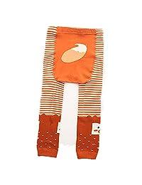 EsTong Baby Toddler Cotton Footless Leggings Tights Warm Stretchy Cartoon Pants