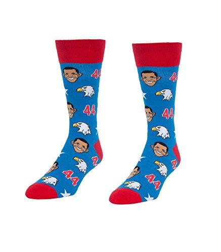 Obamas & Eagles Novelty Socks - Quirky, Funny Men's Crew Socks by Headline Shirts