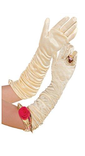 Disney Princess Gloves Costumes (Disney Girls Princess Belle Long Costume Gloves)
