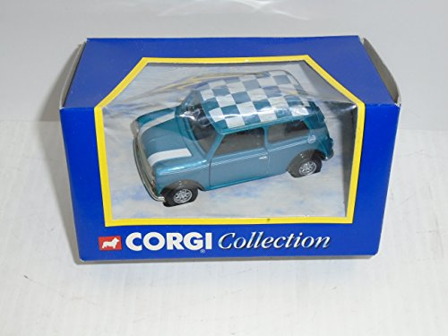 Corgi Collection Mini Kingfisher blue 04416 die cast collectable car