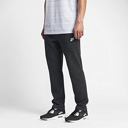 Nike mens M NSW LEGACY PANT FT 805148-032_2XL - BLACK HEATHER/BLACK HEATHER/SAIL