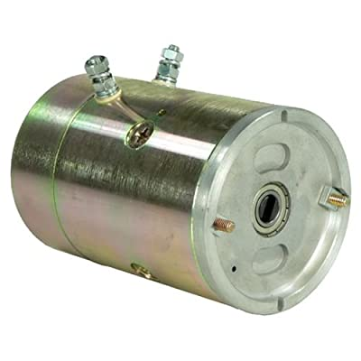 "DB Electrical LMY0003 New Snow Plow Motor for Meyer Meyers 15829 15841 - Heavy Duty, E57 & E60 Pumps, E57, E57H, E-60H 12Volt 4.5"" 1306007 430-22019 10758 AMJ4739 15829 15841 15869 AMT0354 10758N"