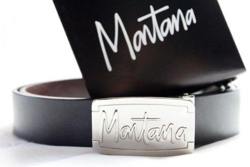 Montana - Ceinture Montana Avec Sigle en Relief  Amazon.fr ... 02abfe81d6b