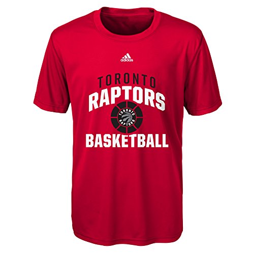 fan products of NBA Rep Big Performance Short Sleeve Tee-Red-XL(18), Toronto Raptors