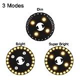 OYOCO Patio Umbrella Light 3 Brightness Modes