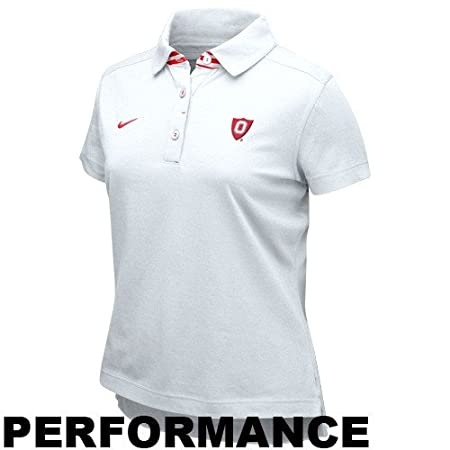 Nike Ohio State Buckeyes Blanco señoras como si Rendimiento Polo ...